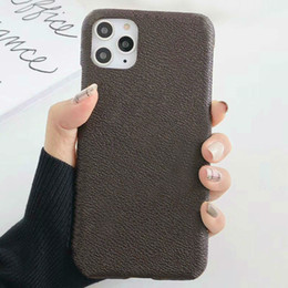 luxury designer phone case for iphone 11 Pro Max XR XS X 8 7 Plus 12 PU leather Fashion Phone Back for samsung S10 S20 Ultra Note 10 cases