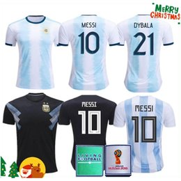 e75b18084 ArgentinA jerseys online shopping - Thailand Argentina soccer jersey copa  america MESSI DYBALA HIGUAIN ICARDI football