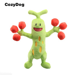 $enCountryForm.capitalKeyWord UK - Anime Green Sudowoodo Plush Toy Soft Stuffed Dolls Toys for Children Japanese Sudowoodo Figure 31 CM 12'' Kids Gift