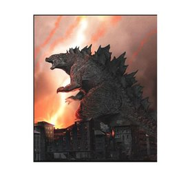 movie tin signs wholesale NZ - Wholesale Godzilla Movie Metal Painting Martin Metal Signs Tin Painting 20*30cm Bar, Cafe, KTV Home Bar Wall Decor Metal Painting