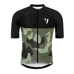 China 2019 Mens Cycling Clothing Team Bike Short Sleeve shirt Cycling Jersey summer quick dry racing sportswear Road Bicycle uniform Y040904 cheap bicycling shirts suppliers