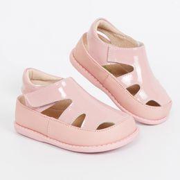 Summer Shoes Kids Australia - Tipsietoes 2018 100% Soft Leather In Summer New Girls Children Beach Shoes Kids Sport Sandals 21034 Free Shipping Sandali Y19051303