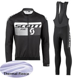 $enCountryForm.capitalKeyWord NZ - 2019 SCOTT team cycling jersey bike pants set mens thermal fleece winter pro cycling wear bicycle 53154