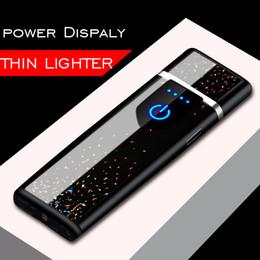 $enCountryForm.capitalKeyWord Australia - Metal Electric Lighter Usb Rechargeable Lighter Windproof Cigarette Accessories Gadgets Men