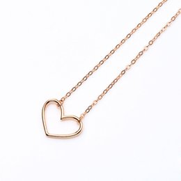 VAE6 Hot Sell Product Women And Man Necklace Send With A Small Box For Birthday Jewelry Gift
