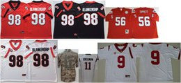 $enCountryForm.capitalKeyWord NZ - Georgia Bulldogs #98 Rodrigo Blankenship College Mens Vintage 11 Julian Edelman 56 Andre Tippett Stitched American Football Team Jerseys