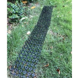 spike mat Australia - 6x Garden Cat Deter Mat Repellent Spikes Mats Prevents Pet Away From Flower