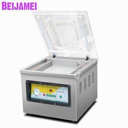 Wholesale BEIJAMEI Food Vacuum Sealer Packer Machine Commercial Fish Meat Rice Tea Vacuum Sealing Machine For Dry Wet Food