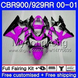 $enCountryForm.capitalKeyWord Australia - Body For HONDA CBR900 RR CBR 929 RR CBR 900RR CBR929RR 00 01 279HM.8 CBR 929RR CBR900RR CBR929 RR 2000 2001 Fairings Purple black glossy kit