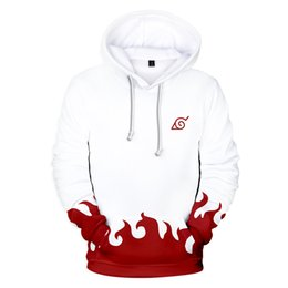 China Naruto Four Generations Six Generations hoodie hip hop anime naruto hoodie streetwear cosplay cheap cosplay six suppliers