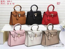 M Style Handbags Australia - 2019 styles Handbag Famous Name Fashion Leather Handbags Women Tote Shoulder Bags Lady Leather Handbags M Bags purse F8856