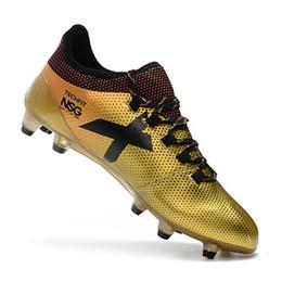 online store d4746 bf189 Band New X17 + Purechaos Messi FG Fußballschuhe Fußballschuhe Herren Cleats  X17-Kollektion