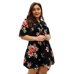 3b2903271a Shop Flower Print Plus Size Dresses UK   Flower Print Plus Size ...