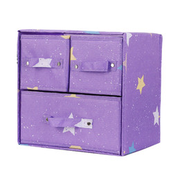 $enCountryForm.capitalKeyWord Australia - Storage Box 3 Drawer Home Saving Space Organiser Cosmetics Collapsible Jewelry Office Oxford Cloth Containers Table Bobs Bits