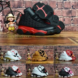 nike air jordan aj13 2019 Designer Baby 13 Kids Basketball Shoes Youth Children Athletic 13s Calzado deportivo para Boy Girls Shoes Envío gratis EE. UU. 11C-3Y