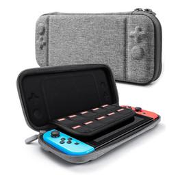 Para Nintendo Switch Console Caso Saco de Armazenamento De Cartão de Jogo Durável Maleta de Transporte Saco de EVA Duro Bolsa de Transporte Portátil Bolsa de Proteção venda por atacado