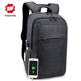 Grey Back Pack Australia - Male Backpack Bag Brand 15.6 Inch Laptop Notebook Mochila For Men Waterproof Back Pack Bag School Backpack Women