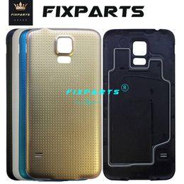$enCountryForm.capitalKeyWord Australia - Original S5 Cover For Samsung Galaxy S5 I9600 G900 Back Battery Door Rear Housing Cover Case For Samsung S5 Battery Cover