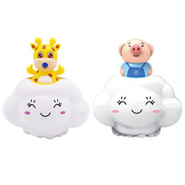 $enCountryForm.capitalKeyWord Australia - Rain Cloud Tub Toy Watering Bath Plaything Hair Wash Tool For Baby Newborn Cute Cartoon Animal Fawn Water Blaster