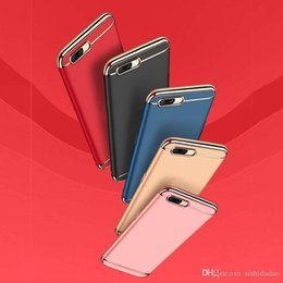 Coque Iphone Luxury NZ - Luxury 3 in 1 Rear Cover For Iphone X 6 6S 7 8 Plus Case Fashion Stitching Back Case For Coque iphone 6 i6 Phone Shell Funda