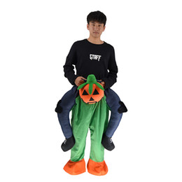 $enCountryForm.capitalKeyWord UK - Pumpkin People Prosthetic Leg Mascot Cute Cartoon Mascot Costume Clothing Factory Customized Customized Walking Holiday