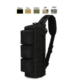 $enCountryForm.capitalKeyWord Canada - Oudoor Sports Tactical Pack   Rucksack   Knapsack   Assault Combat Camouflage Versipack Tactical Molle Long Chest Bag SO11-103
