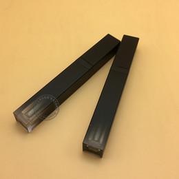 Leere Gradienten schwarz Lipgloss Rohr 5ml Lipgloss Behälter makeup Ölbehälter Kunststoffrohr Nachfüllbare Gloss Schlauch im Angebot