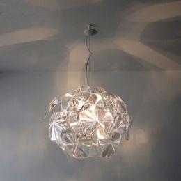 $enCountryForm.capitalKeyWord Australia - Modern brief arylic pineal pendant light fixture norbic home deco living room clear acrylic pendant lamp