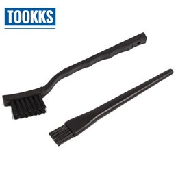 Wholesale 5PCS Anti static brush PCB board cleaning brush Plastic Handle BGA Cleaning Tool Flux Paste