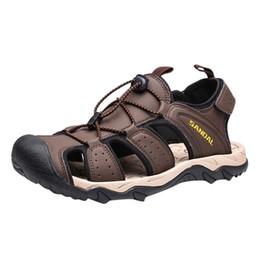 $enCountryForm.capitalKeyWord Australia - Men's Hollow Breathable Beach Shoes Wading Shoes Outdoor Wear Resistant Sports Beach Swim Drawstring Creek #373