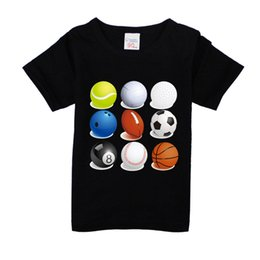 $enCountryForm.capitalKeyWord Australia - New Arrival Boys football t shirt cotton childrens t-shirt soccer summer tops teen age basketball t