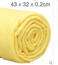 $enCountryForm.capitalKeyWord Australia - Synthetic suede towel wash car towel dry hair absorbent car glass hair chicken skin cloth dedicated no trace car
