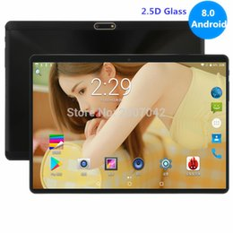 Dual Sim Slot Tablets Australia - New 4GB RAM 64GB ROM 10 inch tablet Octa Core Dual SIM Card Slots Youtube 1280X800 2.5D IPS Screen Android 8.0 GPS tablet 10.1