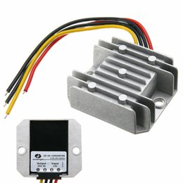 Dc converter up 12v online shopping - DC DC V Step Up to V A W Car Power Converter Regulator Waterproof