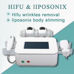 Fat dissolving machines online shopping - 2018 New Model Good Effects liposunix body slimming Fat reducing and dissolving hifu liposonix fat removal liposuction machine