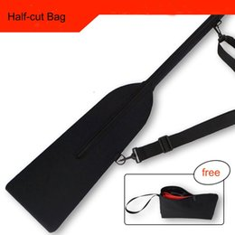Discount dragon boats - high grade half cut dragon boat paddle bag Submersible fabric Waterproof and quick dry dragon boat paddle cover