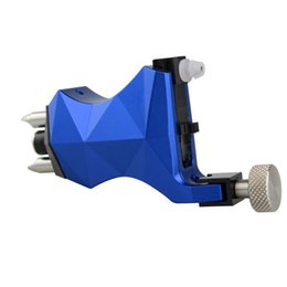 machine shape Australia - Diamond Shaped Rotary Tattoo Machine With Both RCA And Clipocrd Connector 5 Colors Available for Professionals