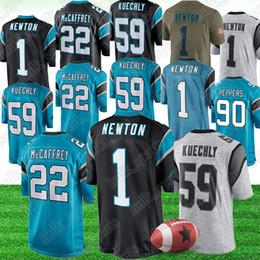 7de92bbfc AmericAn footbAll jerseys 22 online shopping - Carolina Cam Newton Panther  jerseys Christian McCaffrey Thomas Davis