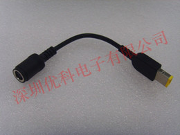 $enCountryForm.capitalKeyWord NZ - DC 7.9*5.5mm Female Adapter to Square Port with Pin Power Cable for IBM Lenovo Notebook