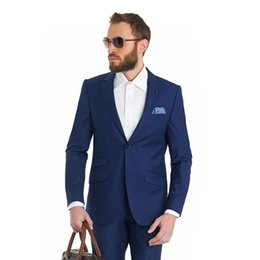 SuitS Smoking online shopping - Classic Notch Lapel tuxedos groom wedding men suits mens wedding suits tuxedo costumes de smoking pour hommes men Jacket Pants Tie