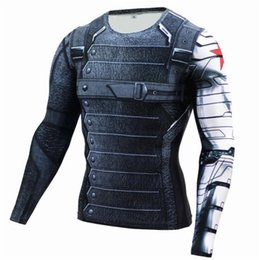 $enCountryForm.capitalKeyWord Australia - Mens Compression Shirts 3D Teen Wolf Jerseys Long Sleeve T Shirt Fitness Men Lycra MMA Crossfit T-Shirts Tights Brand Clothing
