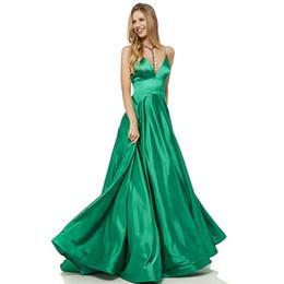 $enCountryForm.capitalKeyWord UK - Verngo Blue Red Evening Dress Stain Fashion Evening Gown V-Neck Formal Dress Party Plus Size Vestido Longo Festa