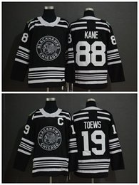 12a7b8f30 2019 Winter Classic NHL Chicago Blackhawks Jersey Youth 19 Jonathan Toews  88 Patrick Kane Kids Boys Authentic Stitched Ice Hockey Jerseys