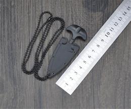 Multifunzionale Mini Coltello da collana pendente Protable Outdoor Camping Knife Rescue Survival Tool in Offerta