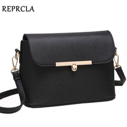 $enCountryForm.capitalKeyWord NZ - REPRCLA Brand Designer Shoulder Bags Fashion Women Messenger Bags Cossbody High Quality Handbag PU Leather Ladies Bag Y190606