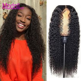Kinky Curly Human Hair Afro Wigs Australia - kinky curly full lace afro wigs brazilian deep wave curly virgin human hair Lace Front Wigs perruques de cheveux humains Lace Closure Wigs