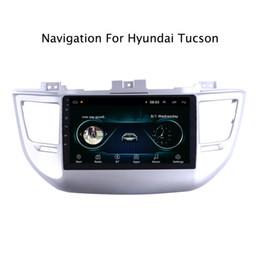 China Radio Stereo NZ - 9inch Android 8.1 Car GPS Navigation Multimedia Radio Stereo for Hyundai Tucson 2015 2016 2017