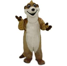 Wholesale mascot kit for sale – halloween 2016Meerkat mongoose mascot costume fancy dress custom fancy costume theme mascotte carnival costume kits