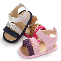 $enCountryForm.capitalKeyWord Australia - New Summer Baby Girl Sandals Anti-slip Shoes PU Princess Toddler Girls Shoes Soft Sandals Patchwork Candy Color