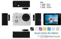 Silver Black Red Australia - 4k sport camera action camera sjcam SJ4000 style A9 2 Inch LCD Screen 1080P Waterproof Camcorders SJcam Sport DV Car DVR fashion 2019 2019
